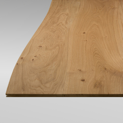 Solid surface Oak non-beveled | Material oak wood | Boleform