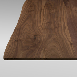 Solid surface Walnut non-beveled | Material european walnut wood | Boleform