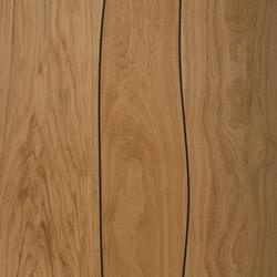 Sobre de mesa de Roble para exterior con incrustaciones de Sikaflex | Tableros para mesas | Boleform