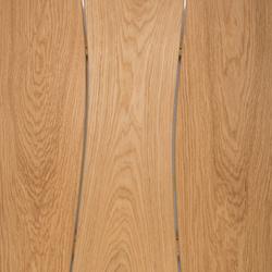 Sobre de mesa de Roble para exterior biselada | Tableros para mesas | Boleform