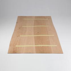 Furnier-Oberfläche Eiche abgeschrägt | Holz Furniere | Boleform