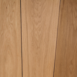 Veneered panel Oak for furniture manufacturing with walnut inlay | Wood veneers | Boleform
