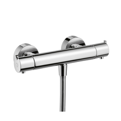 Hansgrohe Ecostat S Thermostatic Shower Mixer for exposed fitting DN15 | Shower taps / mixers | Hansgrohe