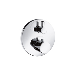 Hansgrohe Ecostat S Thermostat for concealed installation with shut-off valve | Shower taps / mixers | Hansgrohe