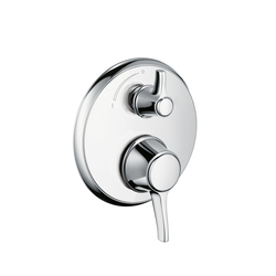 Hansgrohe Ecostat Classic Thermostatic Mixer for concealed installation with shut-off valve | Shower taps / mixers | Hansgrohe