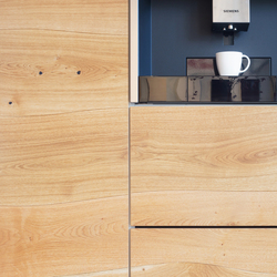 Kitchen and Cupboard front Oak beveled | Wood veneers | Boleform
