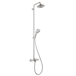 hansgrohe Raindance Select S 240 1jet Showerpipe for bath tub | Shower controls | Hansgrohe
