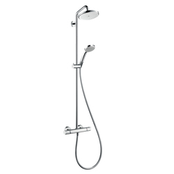 Hansgrohe Croma 220 Showerpipe DN15 | Shower columns / panels | Hansgrohe