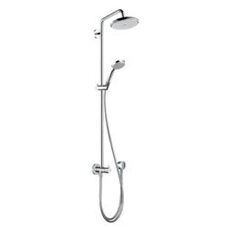 Hansgrohe Croma 220 Showerpipe Reno DN15 | Shower columns / panels | Hansgrohe