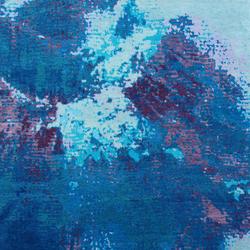 Sin Titulo 3 Blu Mauve | Formatteppiche / Designerteppiche | Living Divani