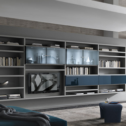 Crossing Teka | Wall storage systems | Misura Emme