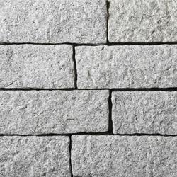 Artic Granit Mauersteine, gestockt | Garteneinfassungen | Metten