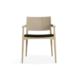 Blazer chair with armrests | Restaurantstühle | Billiani