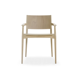 Blazer chair with armrests | Restaurant chairs | Billiani