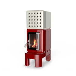 Cubi Stack long | Wood burning stoves | La Castellamonte