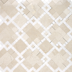 Moment Chic Bursa Beige | Mosaïques en pierre naturelle | AKDO