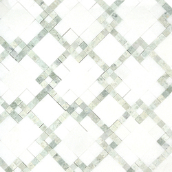 Moment Chic Thassos 2 | Mosaici pietra naturale | AKDO