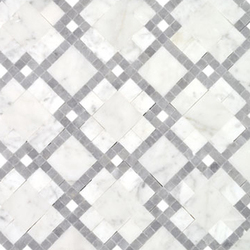 Moment Chic Carrara | Mosaïques en pierre naturelle | AKDO