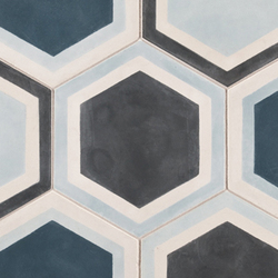 Paccha Honeycomb | Floor tiles | Ann Sacks