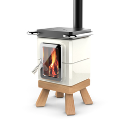 Cookin Stack | Wood burning stoves | La Castellamonte