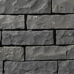 Basalt schwarz Mauersteine | Ringhiere / Recinti | Metten