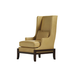 Cradle Wing Chair | Armchairs | Baker