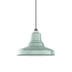 Ivanhoe™ Union Warehouse Porcelain Pendant | General lighting | Barn Light Electric