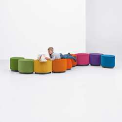 Leaflette Benches | Modular seating elements | Arcadia