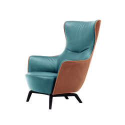 Mamy Blue Armchair | Lounge chairs | Poltrona Frau