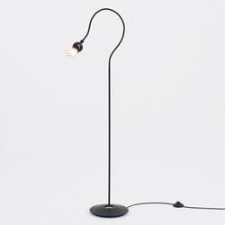 Poppy Floor with 1 arm | Illuminazione generale | serien.lighting