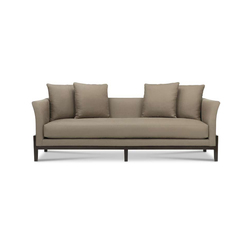 Kinkou Wood Base Sofa With Flared Arm | Sofas | Bolier & Company