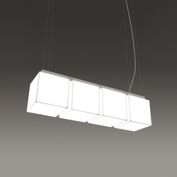 "Kubo Pendant 6""/8""/12"" Multiple Linear 