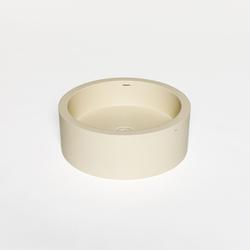 blu•stone round countertop basin   Lavabi / Lavandini   Blu Bathworks