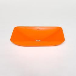 blu•stone rectangular countertop basin | Wash basins | Blu Bathworks