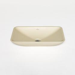 blu•stone rectangular countertop basin | Lavabi / Lavandini | Blu Bathworks