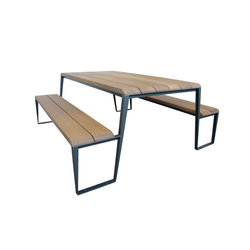 Dimanche EP 2930 | Benches with tables | Equiparc