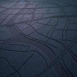Felt City | Alfombras / Alfombras de diseño | Moss & Lam