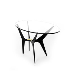 DEAN Oval Side Table | Mesas auxiliares | Gabriel Scott