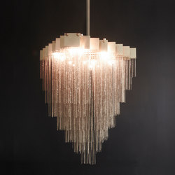 KELLY Chandelier | Ceiling suspended chandeliers | Gabriel Scott