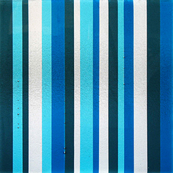 Tapestry Blues | Decorative glass | Nathan Allan Glass Studios