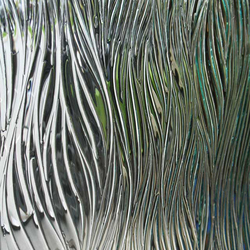 Willow | Decorative glass | Nathan Allan Glass Studios