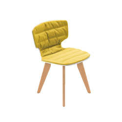 erice wood pad soft | Restaurant chairs | Alias