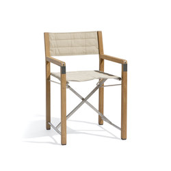 Cross chair teak | Sillas | Manutti