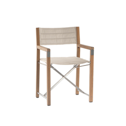 Cross chair | Garden chairs | Manutti