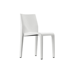 laleggera chair 301 leather | Visitors chairs / Side chairs | Alias