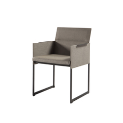 Squat dining chair | Garden chairs | Manutti