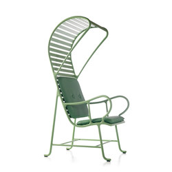 Gardenias armchair with pergola (outdoor) | Sessel | BD Barcelona