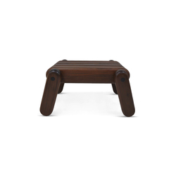 Inflated Wood stool | Polsterhocker | Cappellini