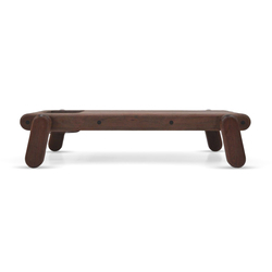Inflated Wood bench | Waiting area benches | Cappellini