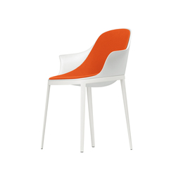 elle soft arm chair 072 | Visitors chairs / Side chairs | Alias